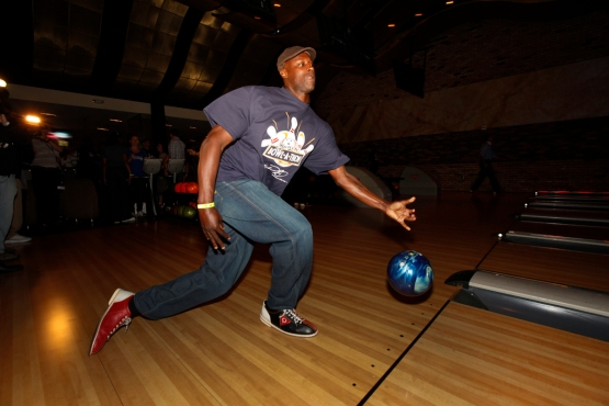 LaTroy Hawkins at the 2011 Bowl-A-Thon