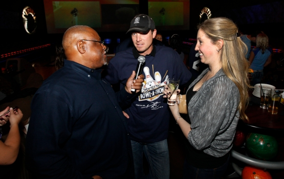 Davey Nelson, Mark DiFelice and his fiance, Lauren