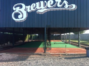 Batting Cages at the facility.