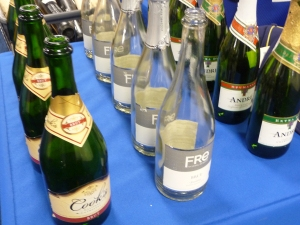 Authenticated Champagne Celebration Bottles