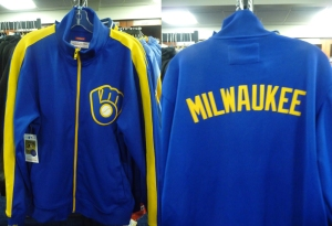 Mitchell and Ness Brewers Jacket