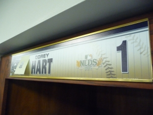 NLDS Name Plate