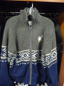 Full-zip Pattern Sweater