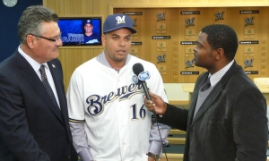 Bill Schroeder and Telly Hughes interview Aramis Ramirez