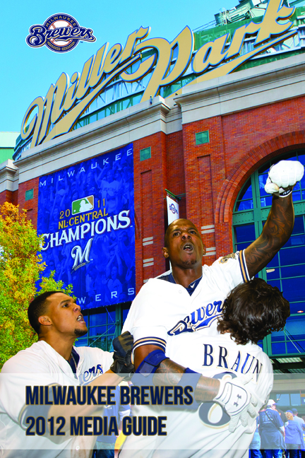 The Brewers 2012 Media Guide Cover