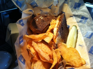 The Cajun Walleye Reuben