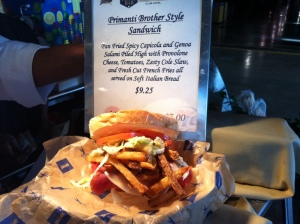 Primanti Brother Style Sandwich for the Pirates Series.