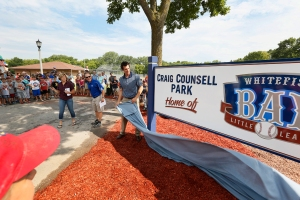 Craig Counsell Park is officially dedicated today.