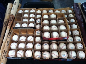 Game used baseballs are just $20!  You can buy one and tell your friends you made a great catch--all while supporting a great cause! Genius!