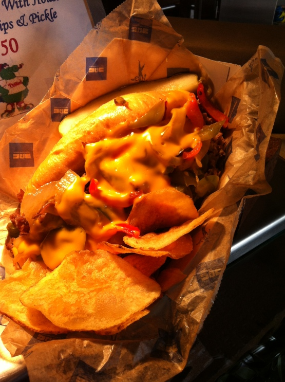 Geno's? Pat's? Try Miller Park's Cheesesteak this weekend!