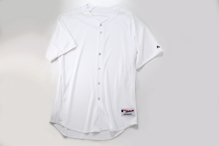 Blank Baseball Uniform Template Our uniform is your canvas: