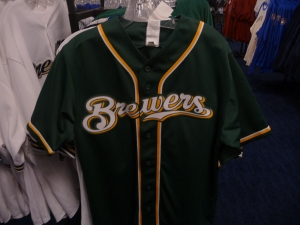 Green and Gold jersey, $30