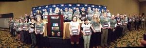 My MLB PR colleagues today at the SU2C press conference.