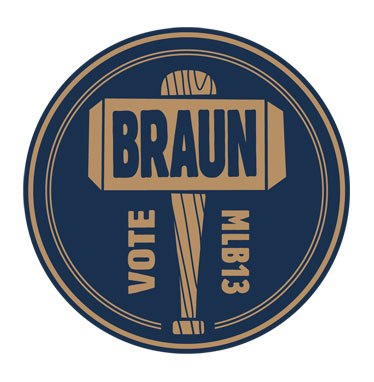 Fans are invited to show their support for Ryan Braun by using this image on social media.
