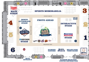A beautiful map of the Brewers On Deck setup.