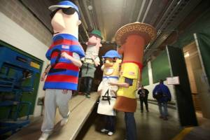 Wouldn't be a Brewers Truck pack without the Famous Racing Sausages helping out!