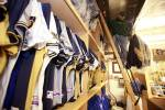 The clubhouse equipment room is jam packed with goodies.