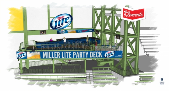 Miller Lite Party Deck