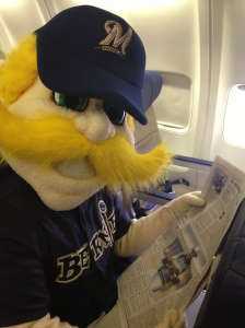 Bernie on board!