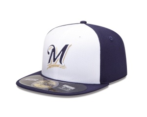 Primary Brewers Batting Practice and Spring Training cap
