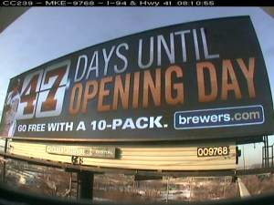 Our Clear Channel Outdoor Billboards have also been counting down the days!