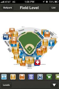 Ballpark Maps & Directories