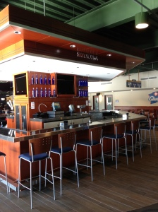 The new SKYY Lounge on the Club Level at Miller Park.