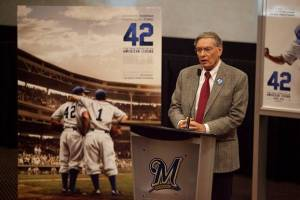 Commissioner Selig announced in 1997 that Jackie Robinson's #42 will be retired by every team.