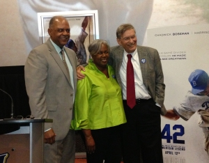 MPS Superintendent Dr. Gregory Thornton, Sharon Robinson and Commissioner Selig.