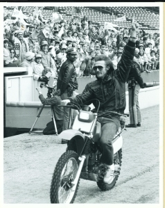 Yount on Motorcycle