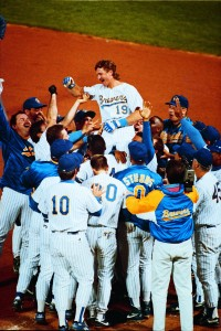 Robin Yount's 3000th Hit