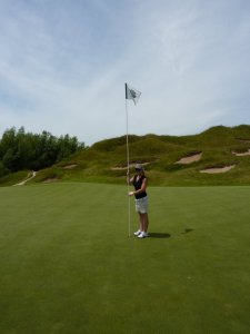 Cait at Whistling Straits