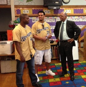 Alfredo Figaro and Gomez speak with Dr. Gregory Thornton of MPS.