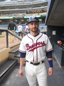 Lucroy turns back the clock.