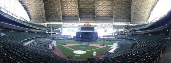 Miller Park Kenny Chesney Set Up