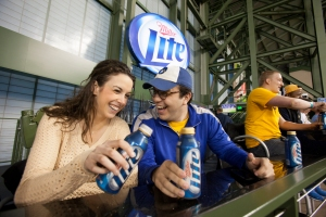 Miller Lite Party Deck at Miller Park