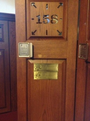 We used the lockers that the pros used during the PGA Championships held at Whistling Straits. I sought out recent US Open winner Justin Rose's, hoping it would give me luck