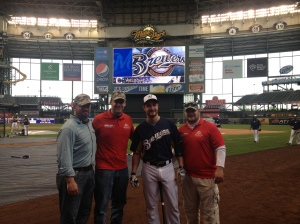 BJ, Brian and Ken meet Jonathan Lucroy