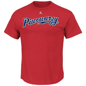 Piwowarzy T-Shirts (both men and women's sizes) will be available at the Team Store this weekend for $25.