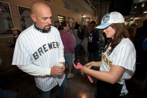 Tickets will be sold by Brewers wives on June 22 throughout Miller Park. Tickets are just $1 each.