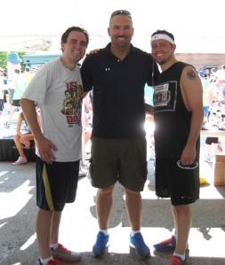 L-R John, Joe Crawford and Mike Vassallo