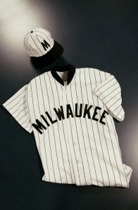 Like these uniforms? The jerseys and caps will be available in the Brewers Team Stores ($160 & $45, respectively).