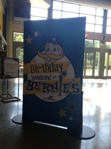 Bernie's Birthday Card Front