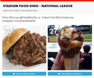 Brewers Stadium Food King