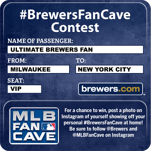 Brewers Fan Cave Contest