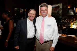Doug Melvin with Commissioner Selg at the 2010 Pink Tie event.