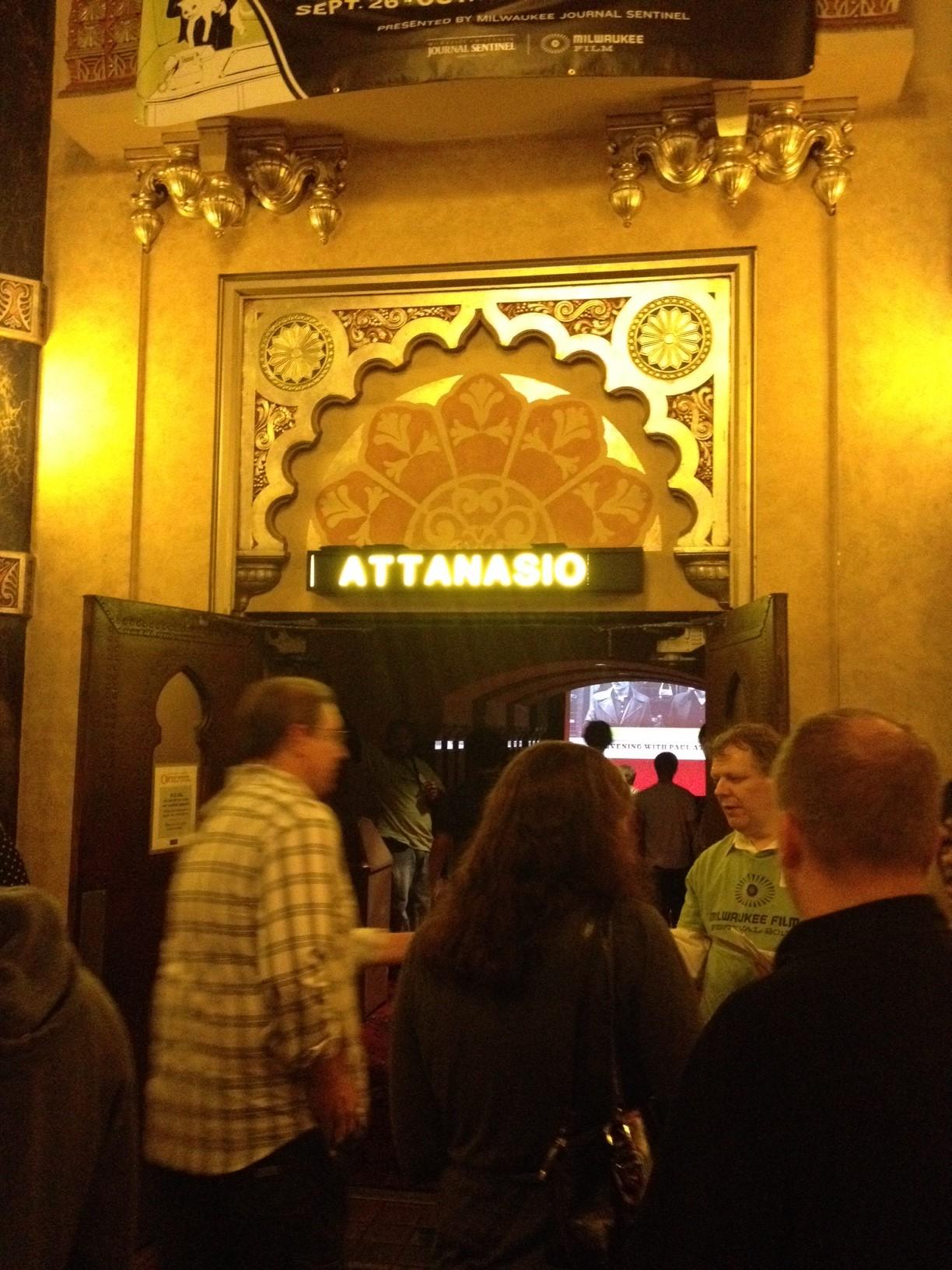 "Milwaukee Film Festival's ""An Evening With Paul Attanasio ..."