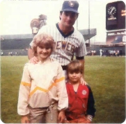 Erika and Craig with Paul Molitor.