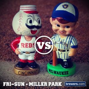 The 2014 Vintage Brewer bobblehead will be similar to one of the original ones, pictured above. Stay tuned for a photo of the exact giveaway item!