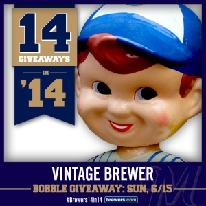 VINTAGE BREWER BOBBLEHEAD